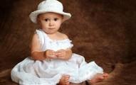 baby girl in white Virgo baby names