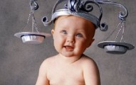 baby with scale hat Libra baby names