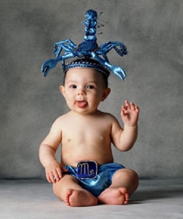 scorpio baby1