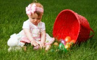 baby on the grass spring baby names for girls