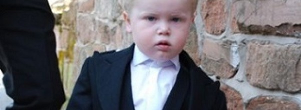 young boy with kilt British baby names