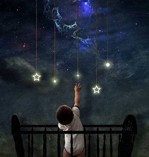 baby reach the stars_zodiac