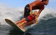 dad kid surf California baby names
