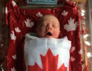 sleeping little baby Canadian baby names