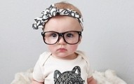 girl with glasses rare baby names