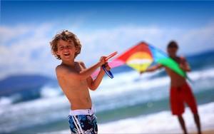 Young boy beach Australian baby names