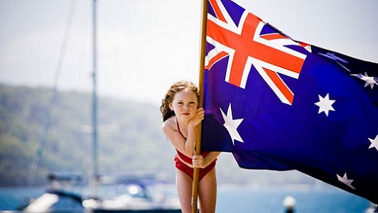 australian girl_