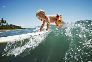 surfer baby