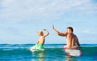 surfer boy and dad surfer baby names