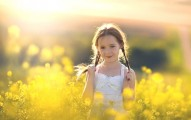 Girl in yellow prairie biblical baby names