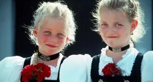 German baby girls