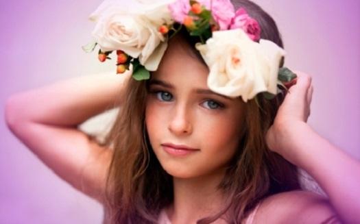 girl beauty flower baby names