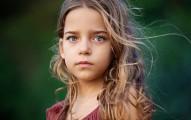 Girl long hair fairy tale