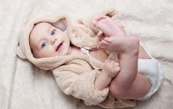 baby tender modern bathrobe