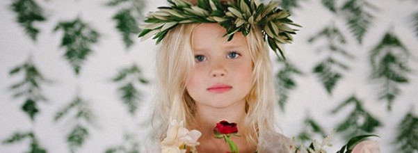 Girl inspired by Greek mythology