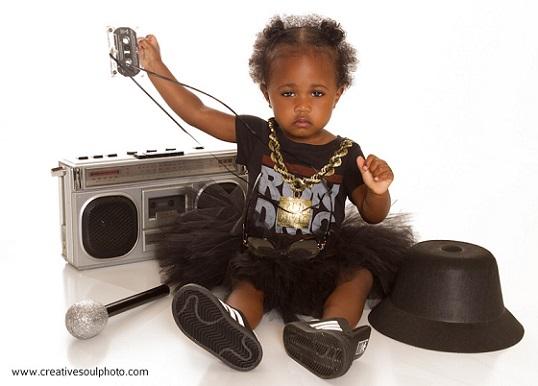 Hip Hop baby girl