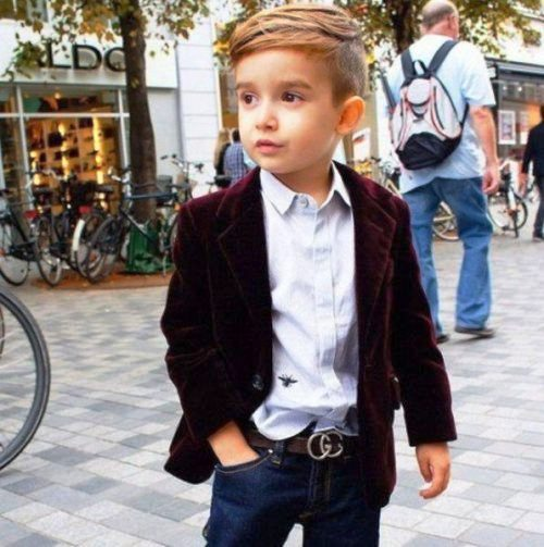 Young boy popular style