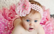 Sweet baby girl pink