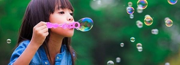 young girl bubbles spiritual baby names