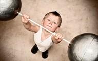 Powerful baby boy