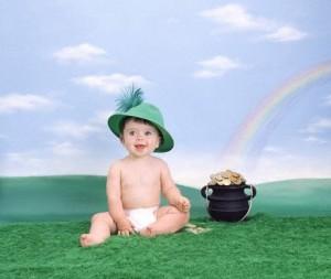 rainbow lucky baby