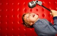 Boy sings Smart