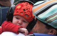 Baby Headphones Rare Hat Dad